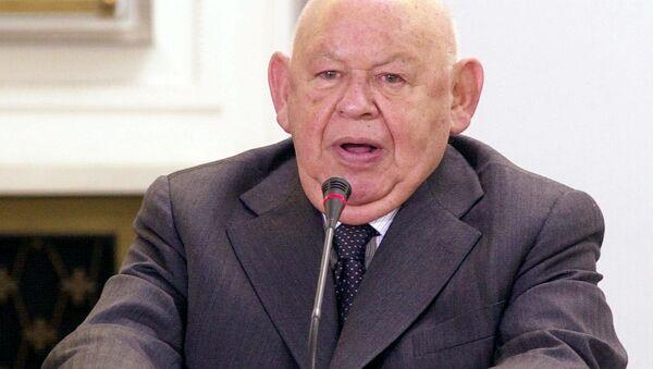 Były sekretarz rządu Wojciecha Jaruzelskiego i redaktor naczelny tygodnika NIE Jerzy Urban - Sputnik Polska