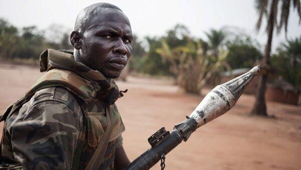 Żołnierz, Republika Środkowoafrykańska - Sputnik Polska