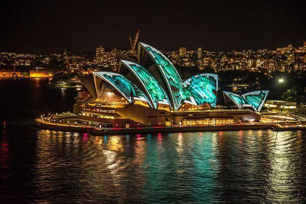 Sydney Opera House w Australii - Sputnik Polska