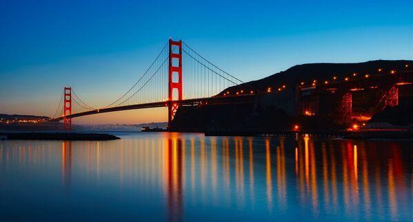Golden Gate Bridge – most wiszący łączący San Francisco z hrabstwem Marin - Sputnik Polska