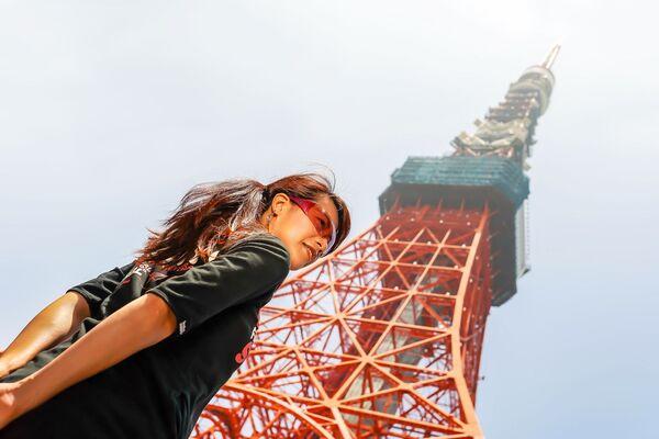 Tokyo Tower – wieża telewizyjno-radiowa z punktem obserwacyjnym położona w Tokio - Sputnik Polska