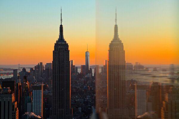 Empire State Building – wieżowiec w Nowym Jorku w Stanach Zjednoczonych - Sputnik Polska