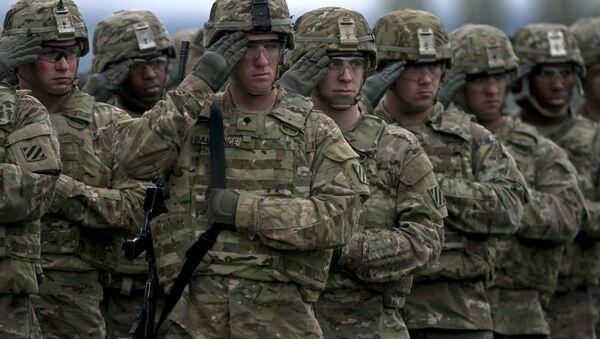 Amerykańscy żołnierze na manewrach w Bułgarii - Sputnik Polska