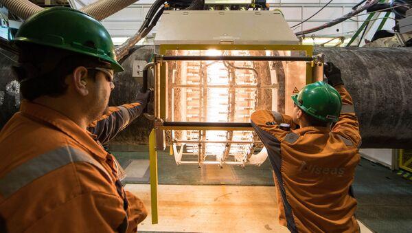 Budowa gazociągu Nord Stream 2 na wodach Niemiec - Sputnik Polska
