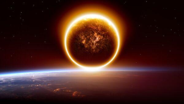 Wizerunek planety Nibiru nad Ziemią - Sputnik Polska