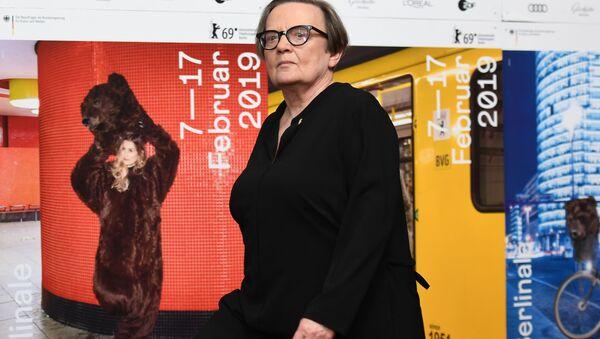 Reżyserka Agnieszka Holland - Sputnik Polska