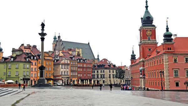 Plac Zamkowy w Warszawie - Sputnik Polska
