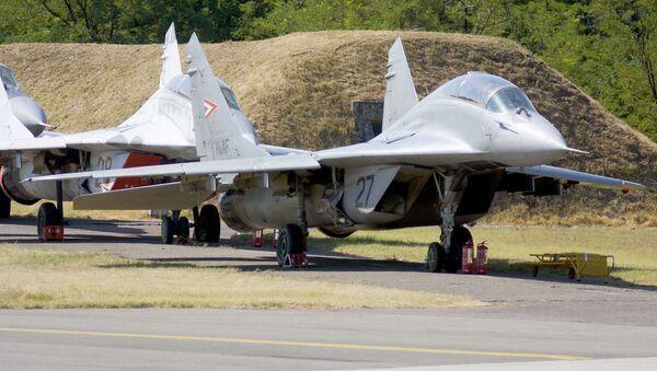 MiG-29 na Węgrzech - Sputnik Polska
