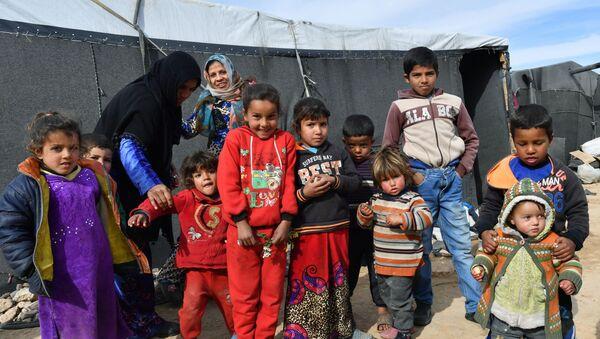 Dzieci w Homsie, Syria - Sputnik Polska
