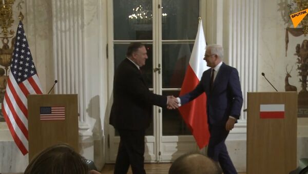 Pompeo w Warszawie - Sputnik Polska