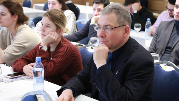 Profesor dr hab. Joachim Diec, kierownik Katedry Badań nad Obszarem Eurazjatyckim na Uniwersytecie Jagiellońskim w Krakowie. - Sputnik Polska
