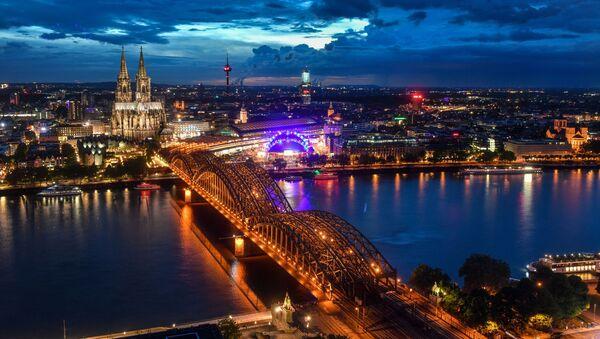 Widok na katedrę w Kolonii - Sputnik Polska
