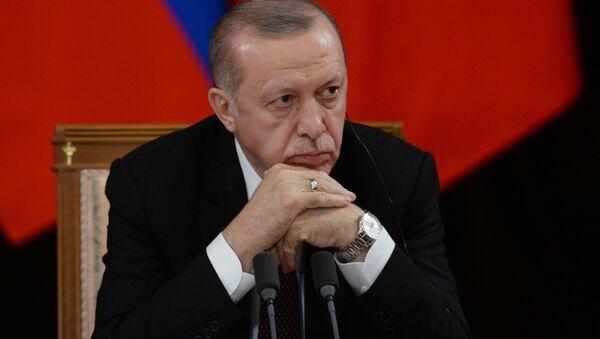 Recep Erdogan - Sputnik Polska