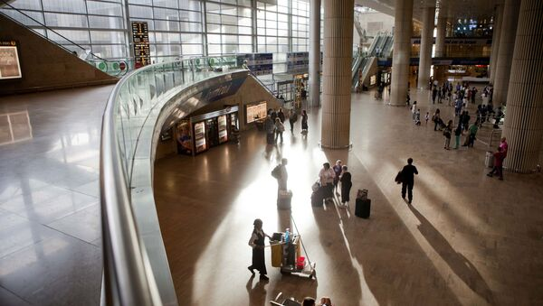 Lotnisko im. Ben Guriona w Tel Awiwie - Sputnik Polska