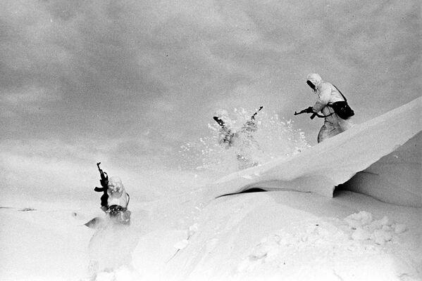 Manewry wojskowe Dwina, 1970 r. - Sputnik Polska