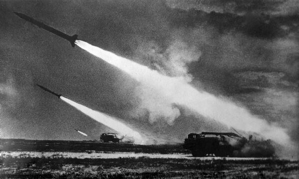 Wyrzutnie rakietowe. ZSRR, 1968 r. - Sputnik Polska