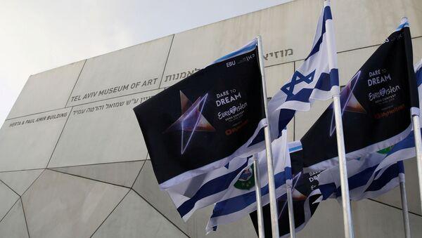 Flaga Eurowizji w Izraelu - Sputnik Polska