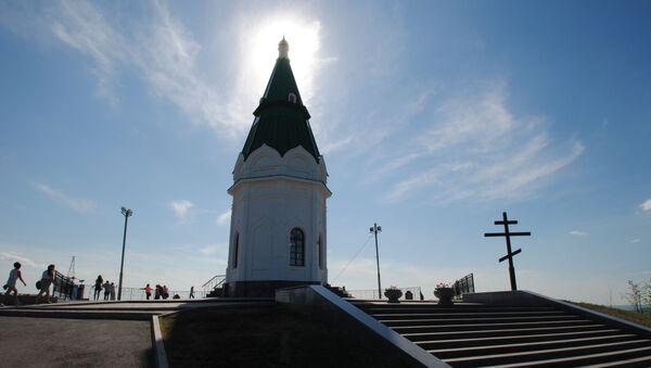 Kaplica Paraskiewy Piatnicy w Krasnojarsku - Sputnik Polska