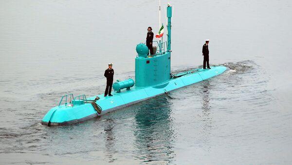 Irański okręt podwodny klasy Ghadir - Sputnik Polska