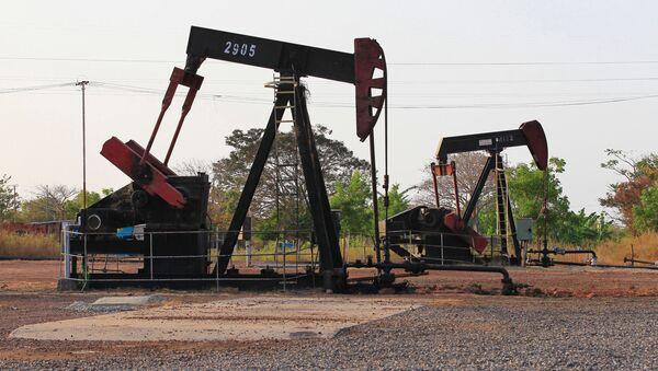 Sprzęt do pompowania ropy w Wenezueli - Sputnik Polska