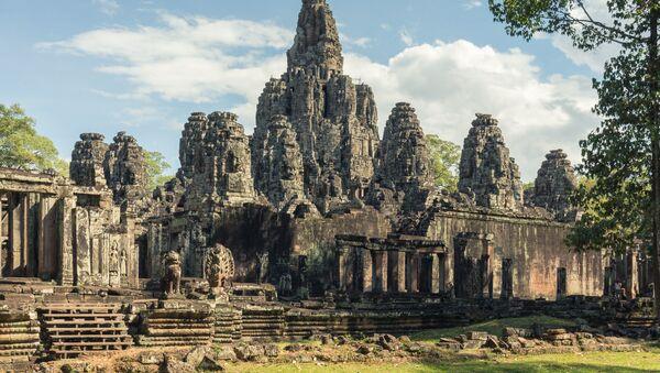 Świątynia w Angkor Thom - Sputnik Polska