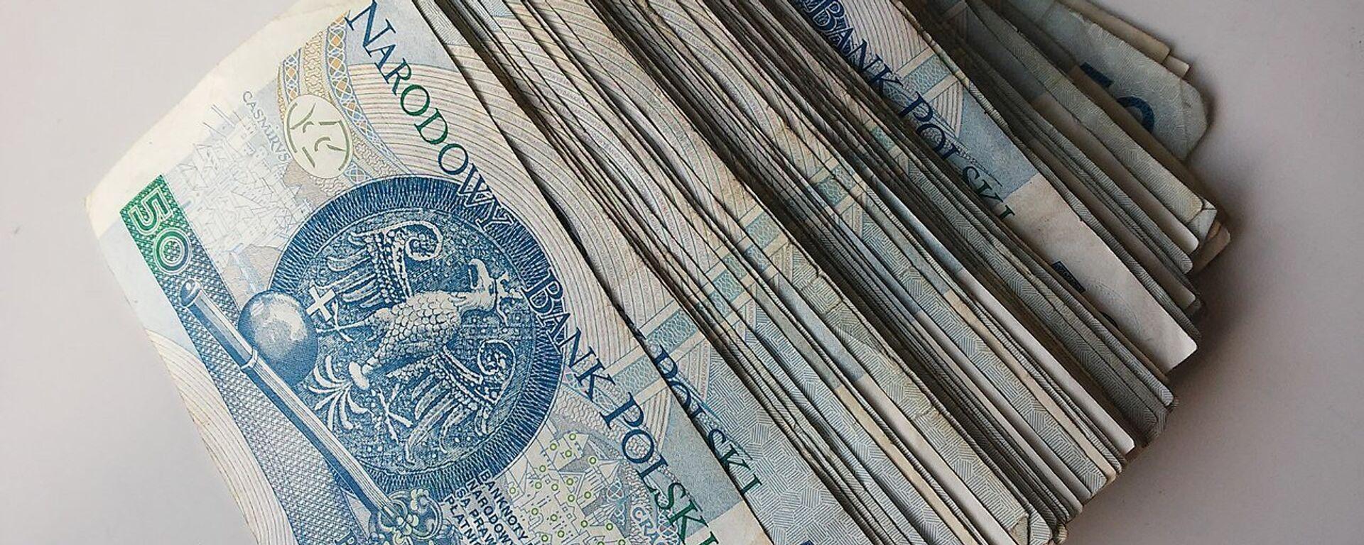 Banknoty 50-złotowe - Sputnik Polska, 1920, 01.10.2021