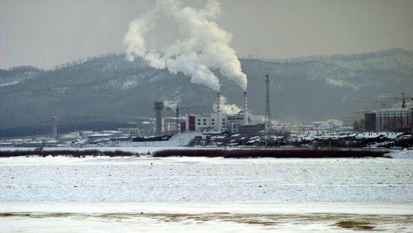 Поселок Фуюань на стороне КНР на российско-китайской границе - Sputnik Polska