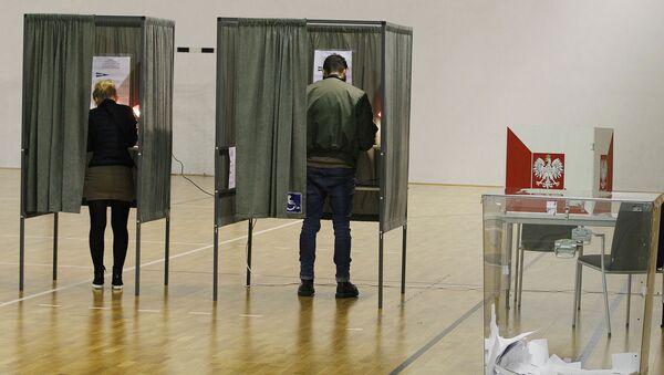 wybory prezydenta miasta w Polsce - Sputnik Polska