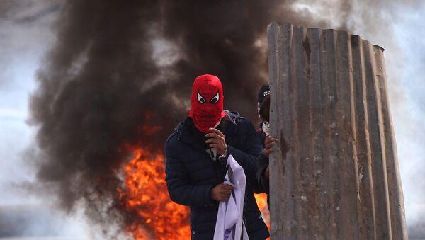 Protesty w Kaszmirze - Sputnik Polska