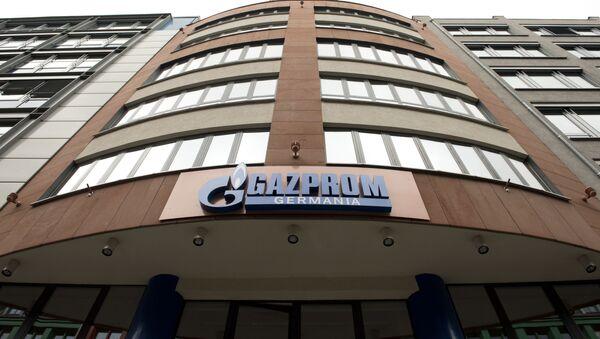 Budynek Gazpromu w Niemczech - Sputnik Polska