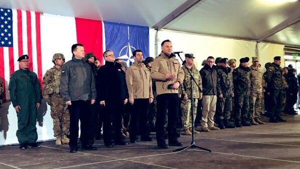 Prezydent Andrzej Duda w Żaganiu, 4 marca 2019 - Sputnik Polska