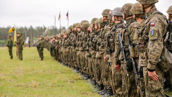 Polska armia na szkoleniach NATO - Sputnik Polska