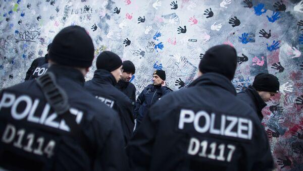Niemiecka policja - Sputnik Polska
